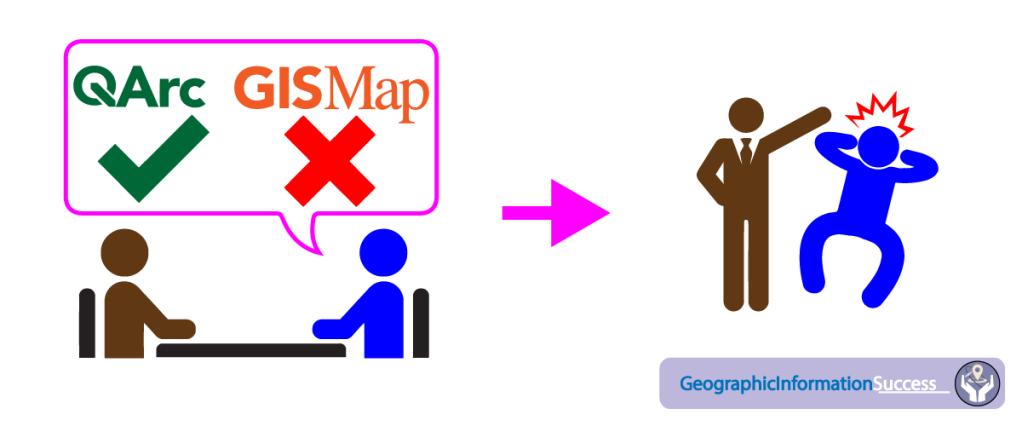 Big mistake: Saying you don't like some GIS software